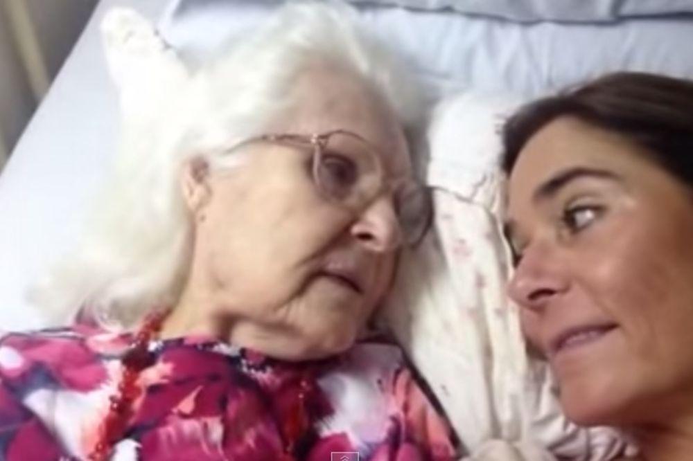 DAR OD BOGA: Majka (87) obolela od Alchajmera prepoznala ćerku Keli!