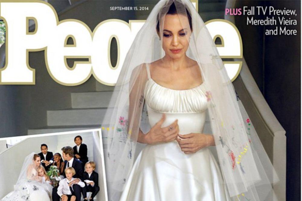 PRVE FOTOGRAFIJE SA VENČANJA: Ovako je bilo na svadbi Anđeline i Breda!