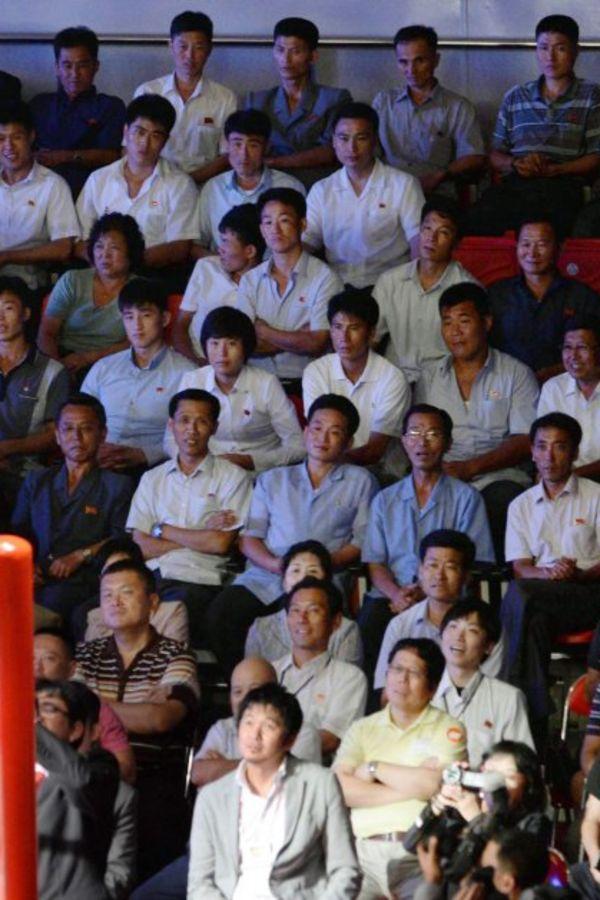 (VIDEO) LUDNICA U PJONGJANGU: Pogledajte kako su u Severnoj Koreji dočekali američke rvače