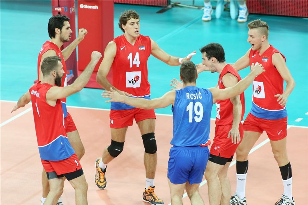 PRVA POBEDA ODBOJKAŠA: Srbija ubedljiva protiv Argentine na Svetskom prvenstvu