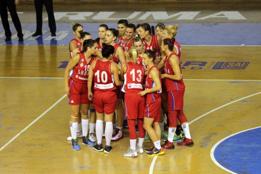 POBEDA 67 RAZLIKE: Košarkašice Srbije ubedljive protiv Egipta