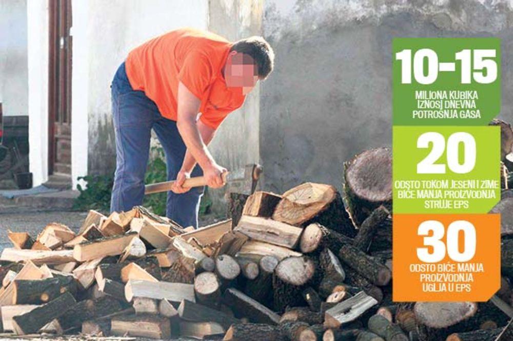 Najjeftinije grejanje na drva i ugalj