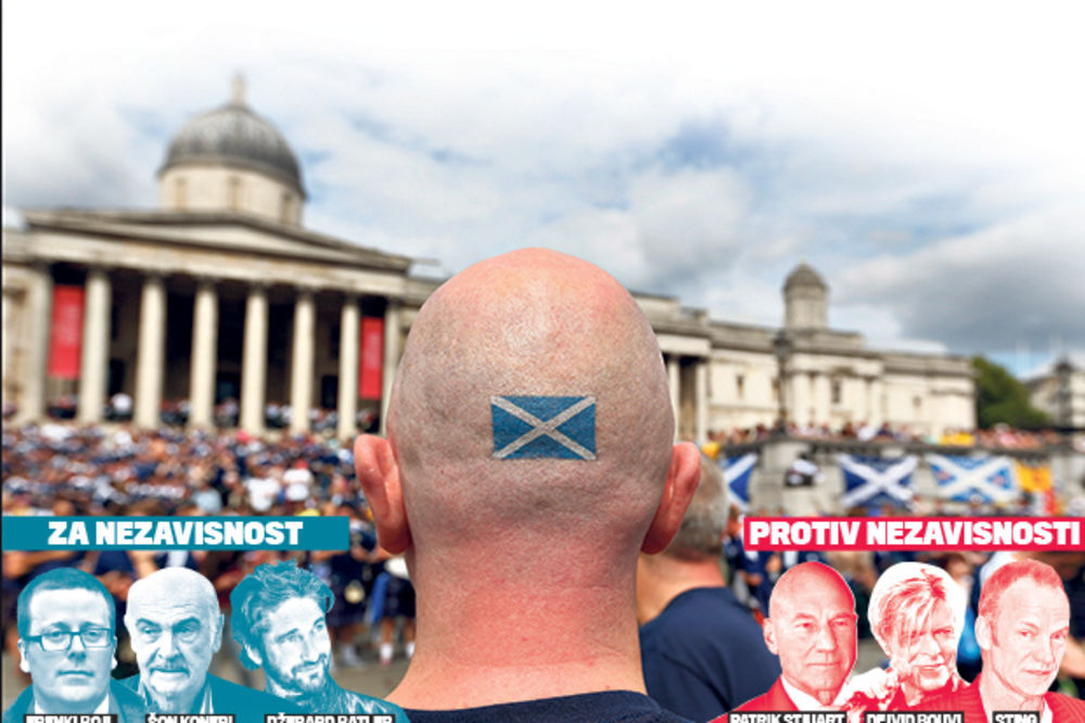 KRIZA: Sve više Škota hoće cepanje Britanije!