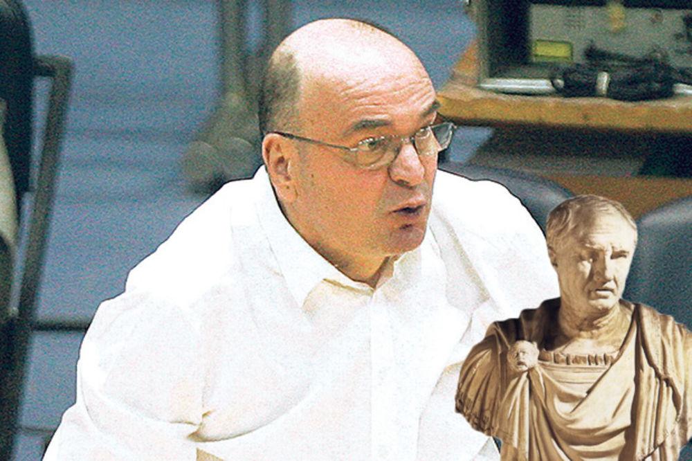 VUJOŠEVIĆ: Nisam ja Katilina, Rašković nije Ciceron, neka kaže da li je prevario Danilovića