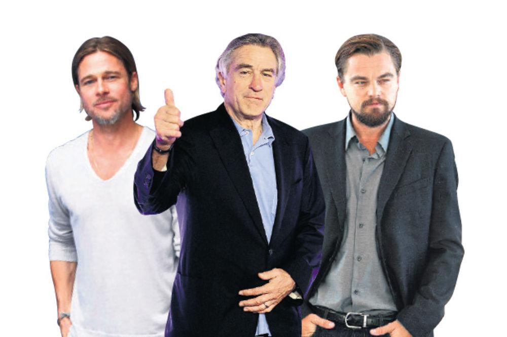 Bred Pit, De Niro i Dikaprio uzeli za spot po 13 miliona dolara