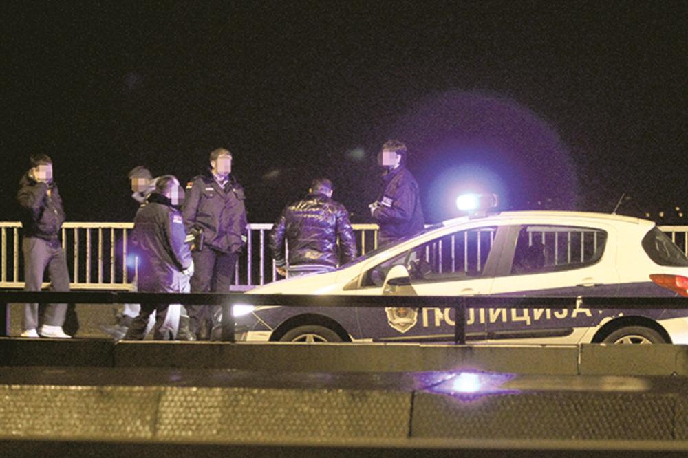 POKUŠAJ SAMOUBISTVA: Muškarac skočio sa Pančevačkog mosta