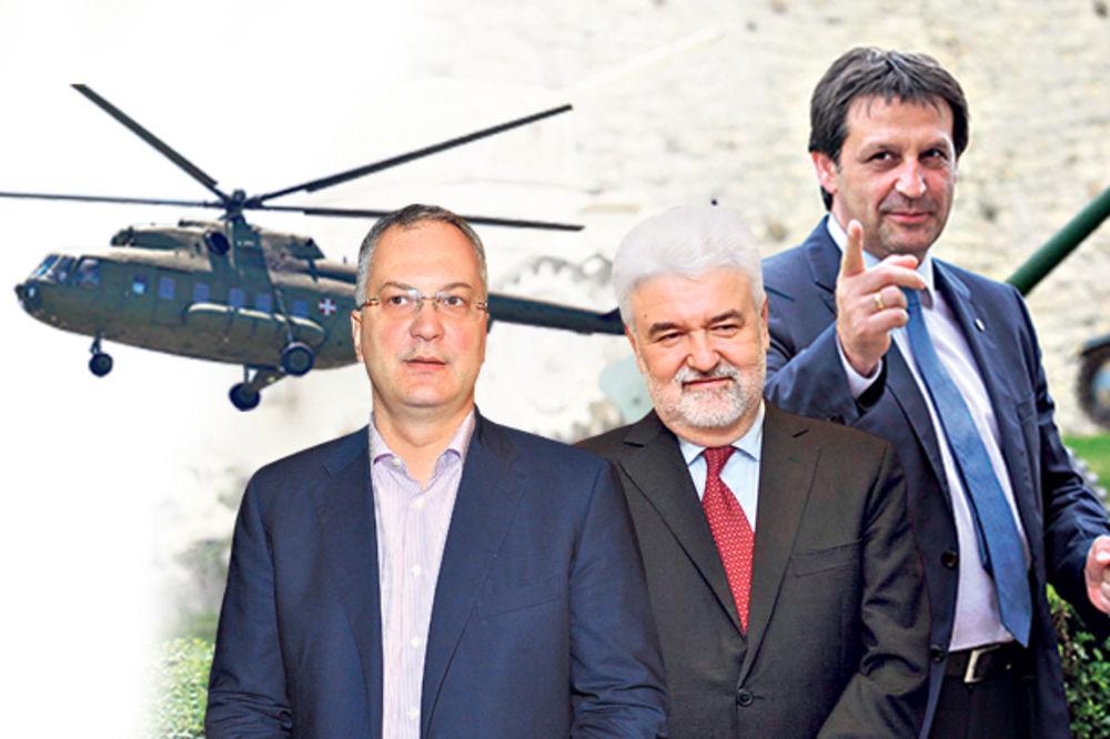 RASIPNIŠTVO: Ministri vojnim helikopterima išli na žurke!