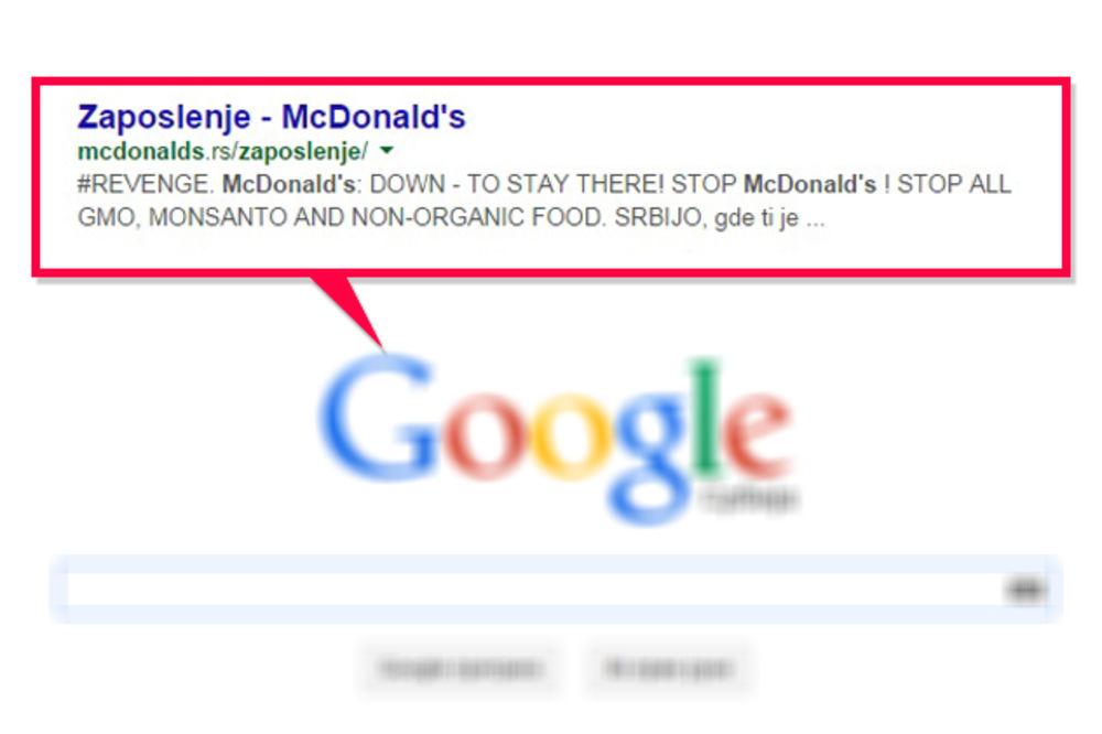 Hakovan sajt Mekdonaldsa!