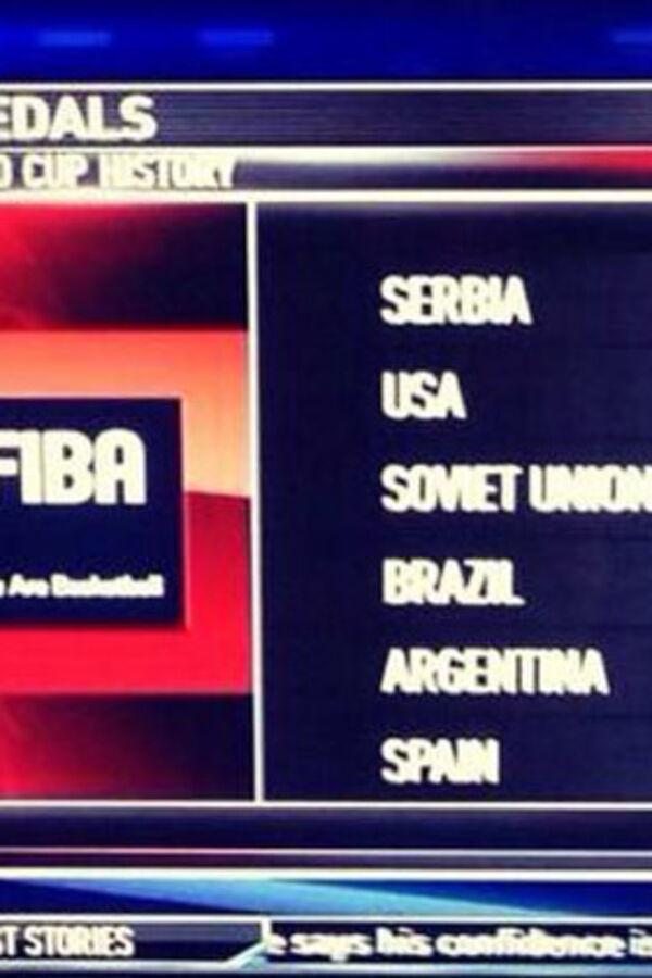 RAČUNAJU KAO I SRBI: Pogledajte kako Amerikanci broje svetske titule u košarci