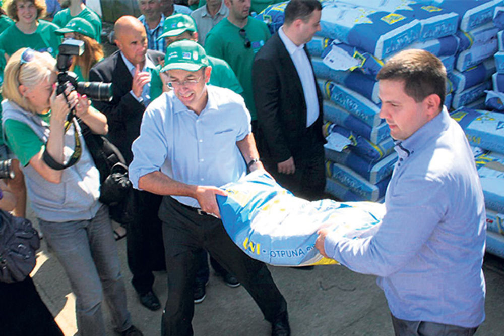 Evropa donirala stočnu hranu Obrenovčanima