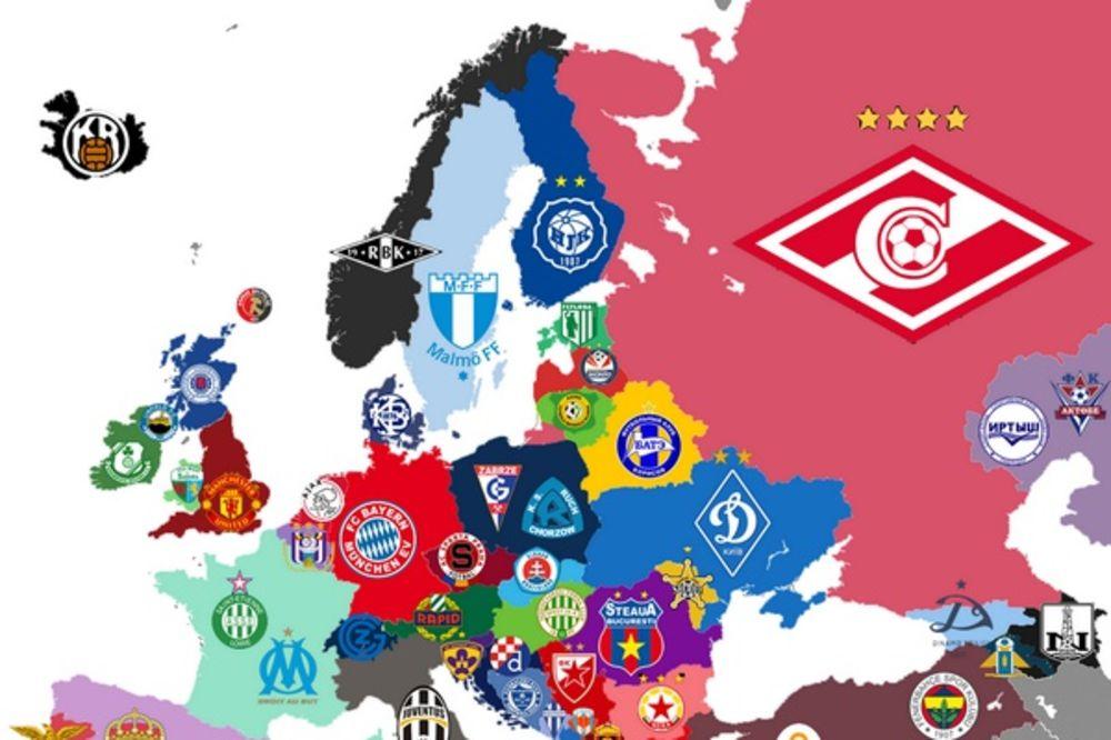 PUNE VITRINE TITULA: Ovi timovi su najbolji u svojim zemljama