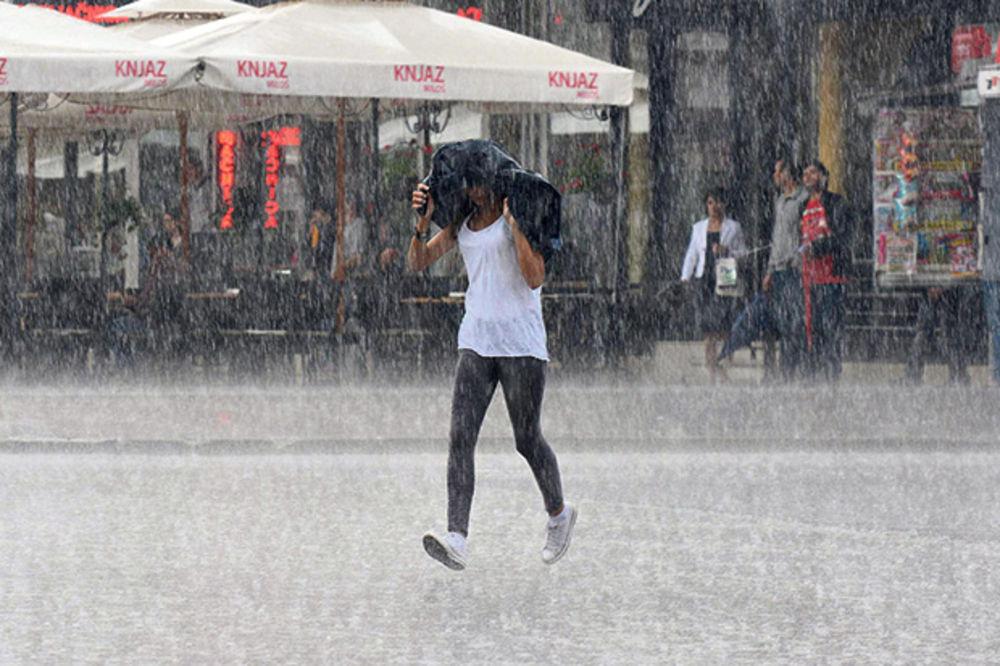 GOTOVO LETO: Kiša u Beogradu, Sremu i Šumadiji