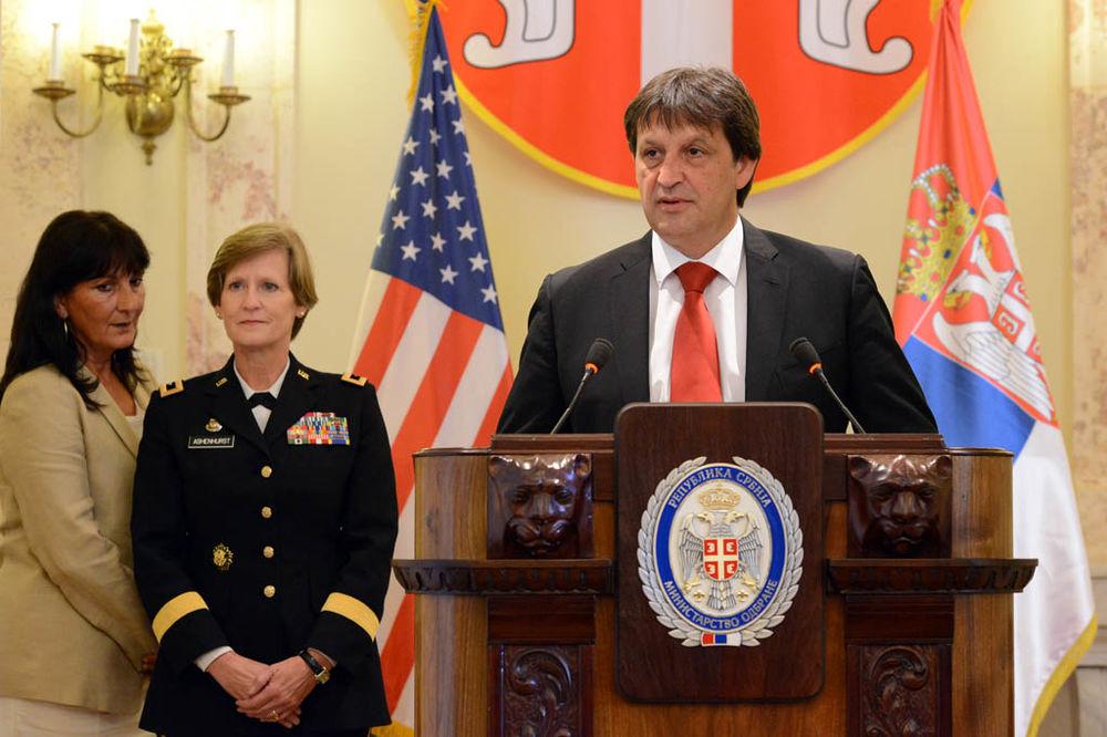GAŠIĆ: Nacionalna garda Ohaja Vojsci Srbije donirala 8 miliona dolara