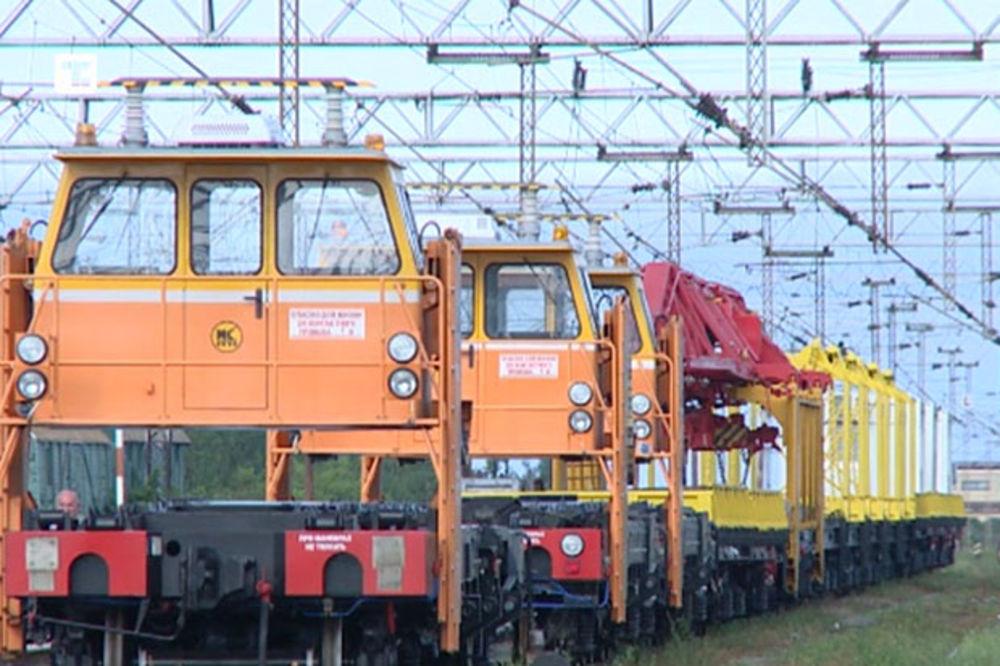 REMONT PRUGA: Železnice Srbije dobili još 31 rusku mašinu!