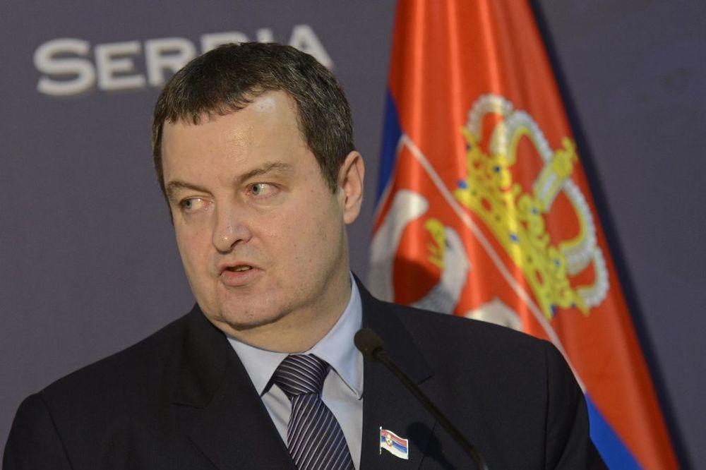 Dačić: Rešavanje ukrajinske krize pritoritet Srbije