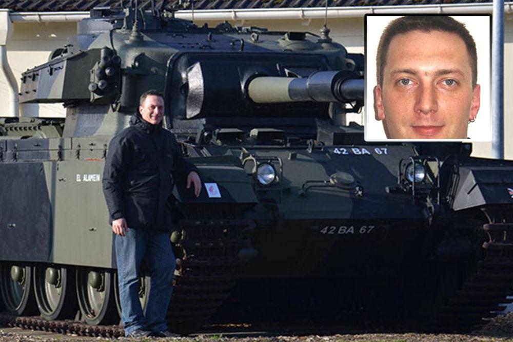 TUČA U BRANKOVOJ: Ovo je Nemac pretučen na Zelenom vencu!