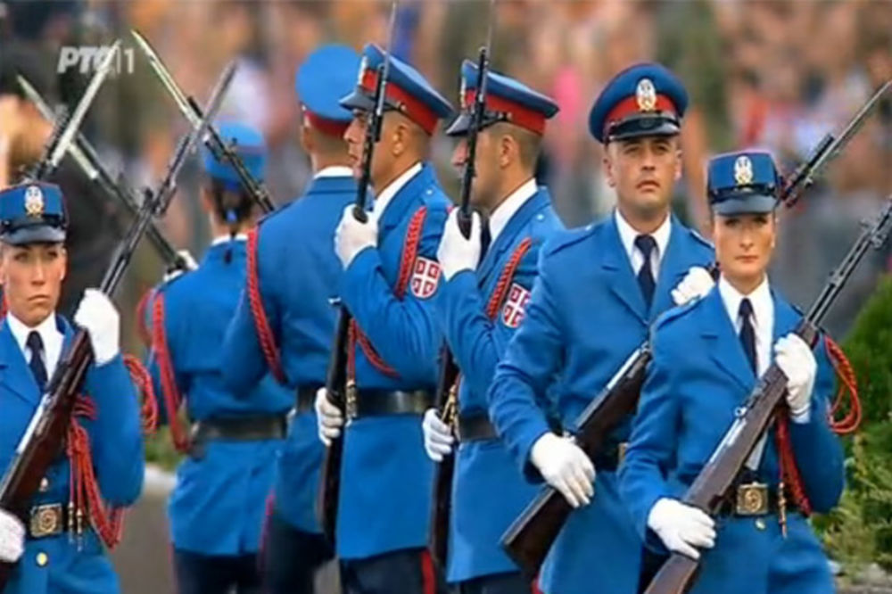 DAN POBEDE: Srpski gardisti spremni za Crveni trg!
