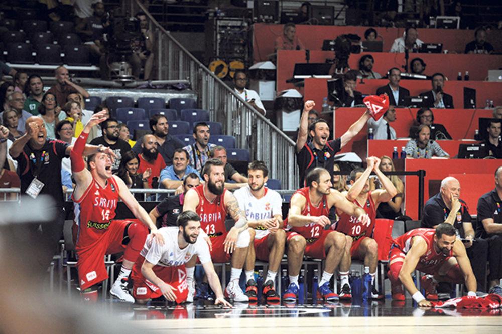 DA SE NAJEŽIŠ: Motivaciona himna košarkaša