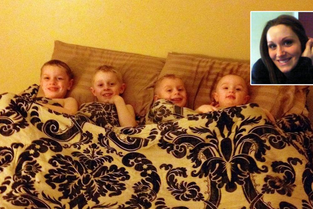MAJKA 4 DEČAKA: Želim da me moji sinovi gledaju golu!