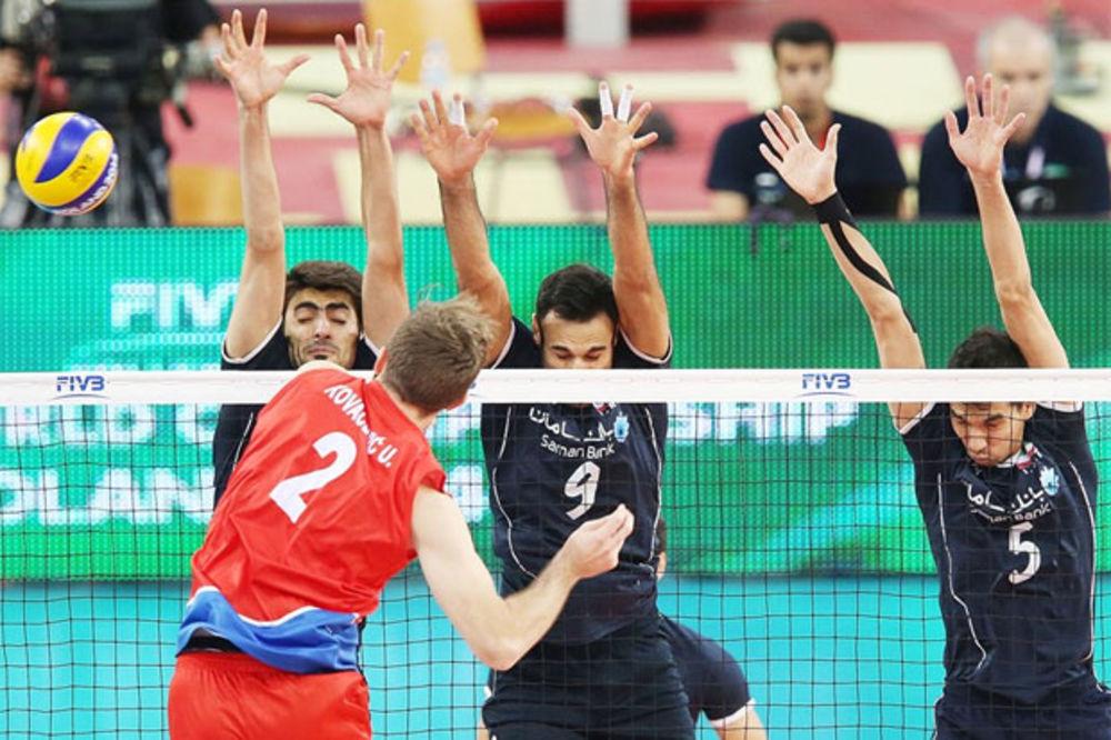 KRAH ODBOJKAŠA: Srbija porazom od Irana završila SP
