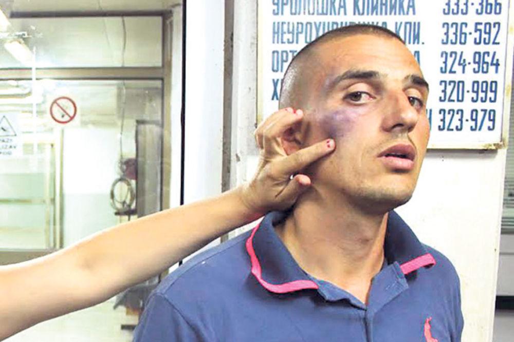 IŽIVLJAVANJE PLAVACA: Nokautirali ga u policijskoj stanici