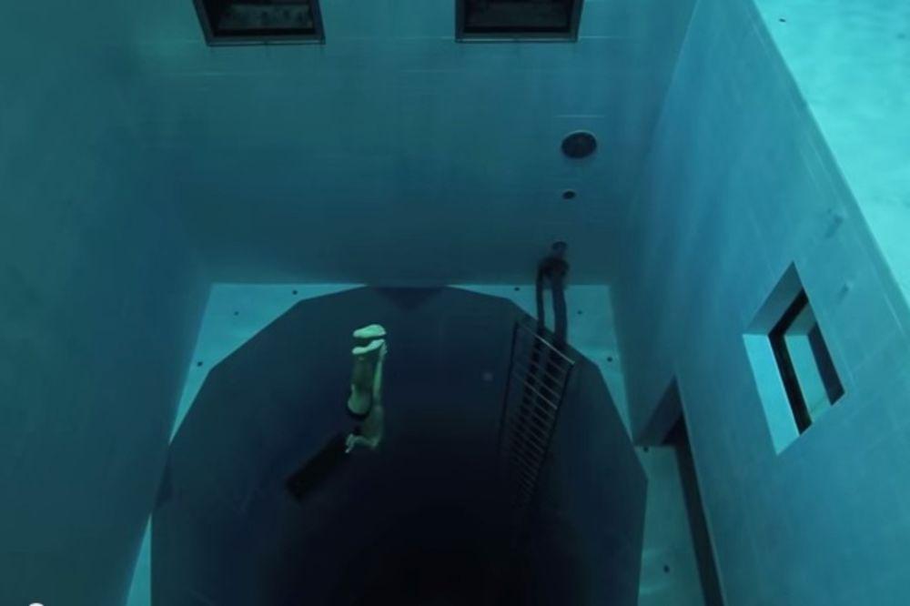 Ovo je najdublji bazen u zatvorenom!