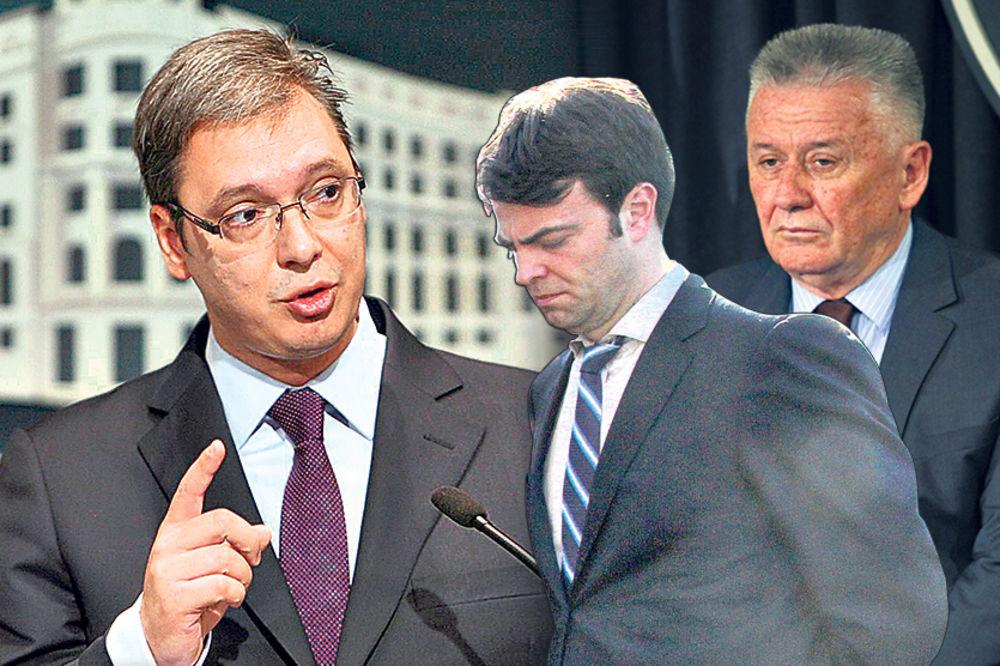 VUČIĆ IZRIBAO DIREKTORE: Radićete za Srbiju, a ne za mafijaše!