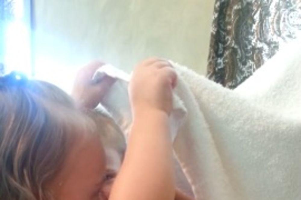 TATA, SAD NE LIČIŠ NA RADULJICU: Evo zašto se ćerkica rasplakala!