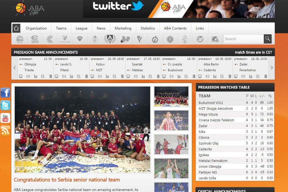 ČESTITA CEO BALKAN: JADRANSKA LIGA Ponosni smo na sve košarkaše Srbije!