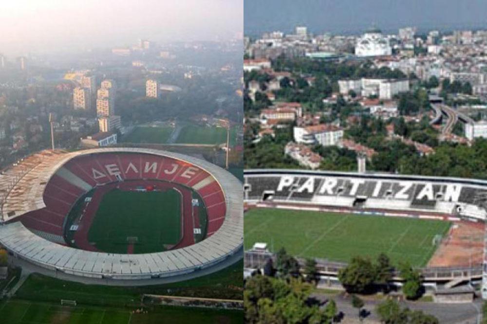 PARE ZA OSVETLJENJE I TEREN: Tole obnavlja stadione Crvene zvezde i Partizana