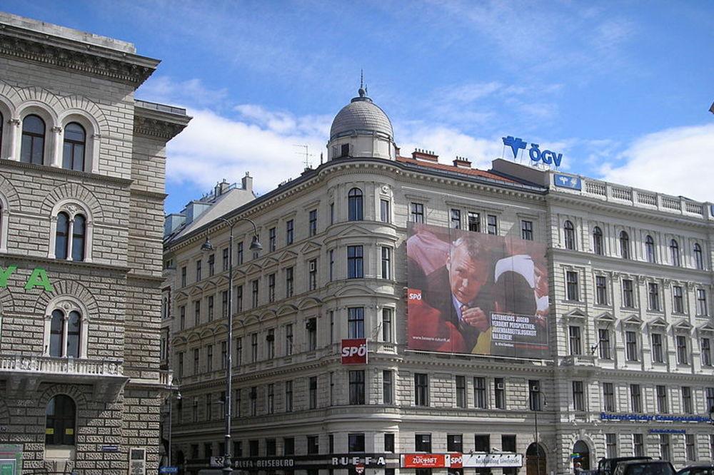 Opljačkano sedište socijaldemokratske stranke u centru Beča!