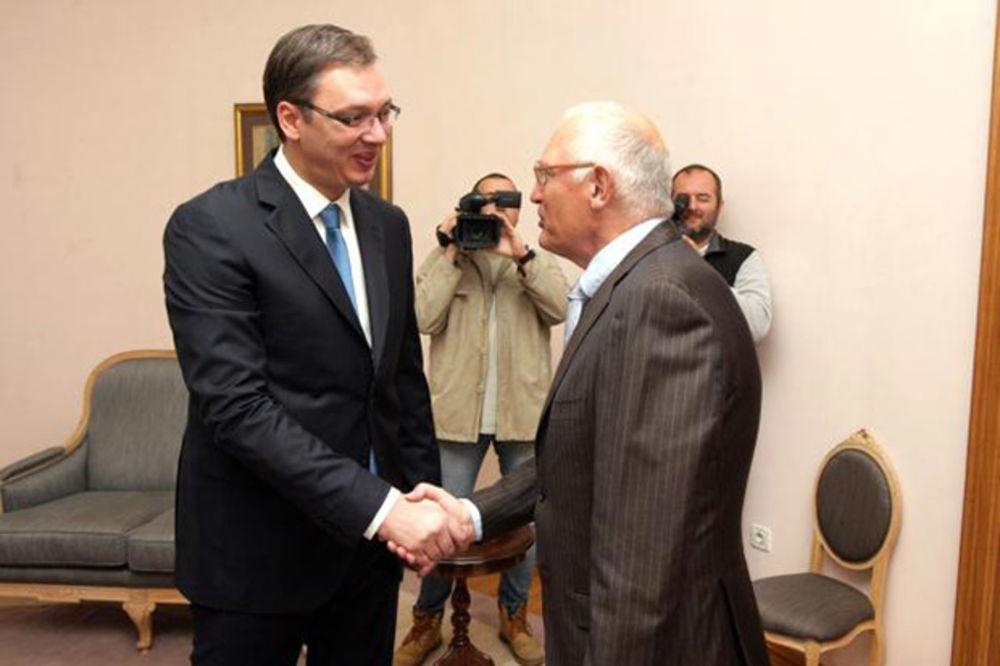 Vučić: Srbija će predano raditi na pristupanju EU