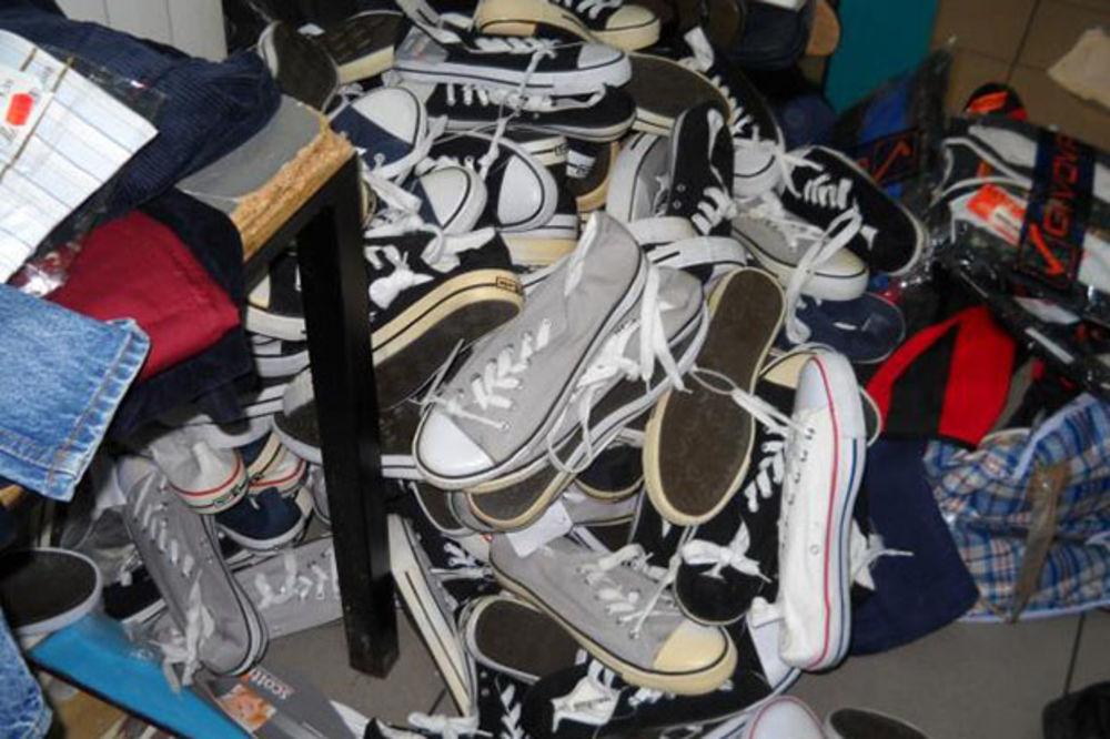 Horgoš: Otkrivena garderoba vredna 13.000 evra