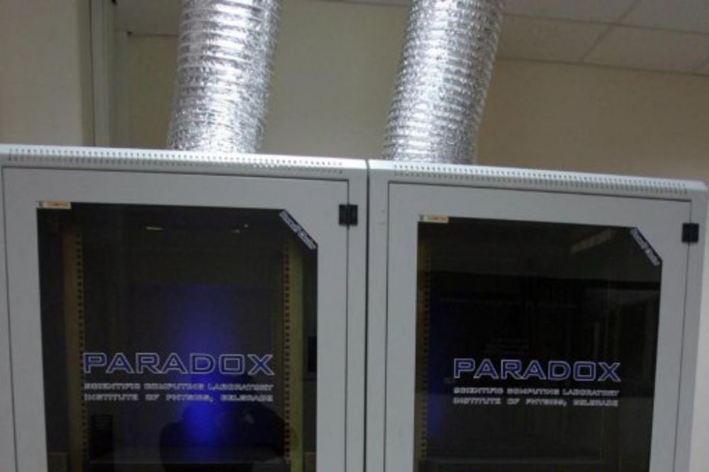 Paradox IV: Na Institutu za fiziku pušten u rad superračunar