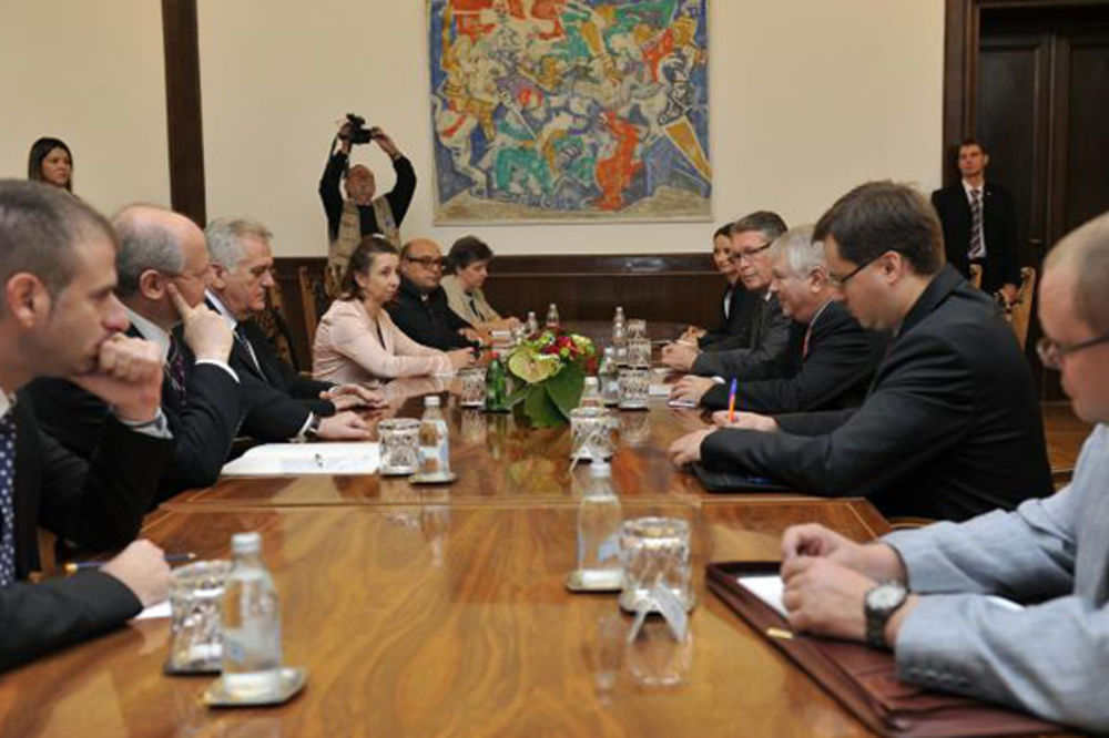 Nikolić primio Meškova: Sankcije Rusiji nećemo uvoditi