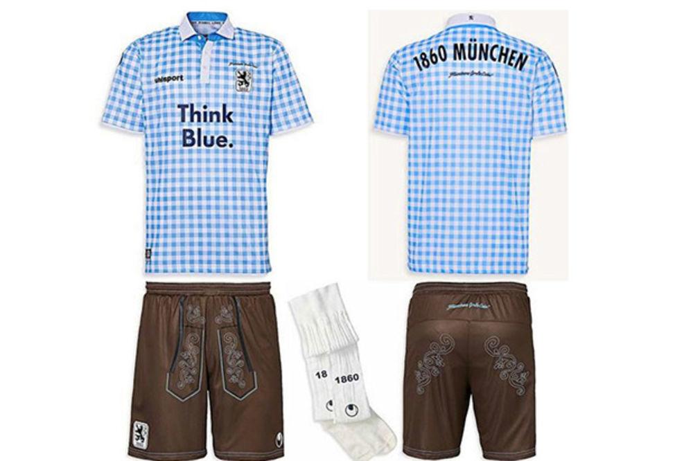 OKTOBARFEST KAO INSPIRACIJA: Fudbaleri Minhena 1860 dobijaju nove dresove