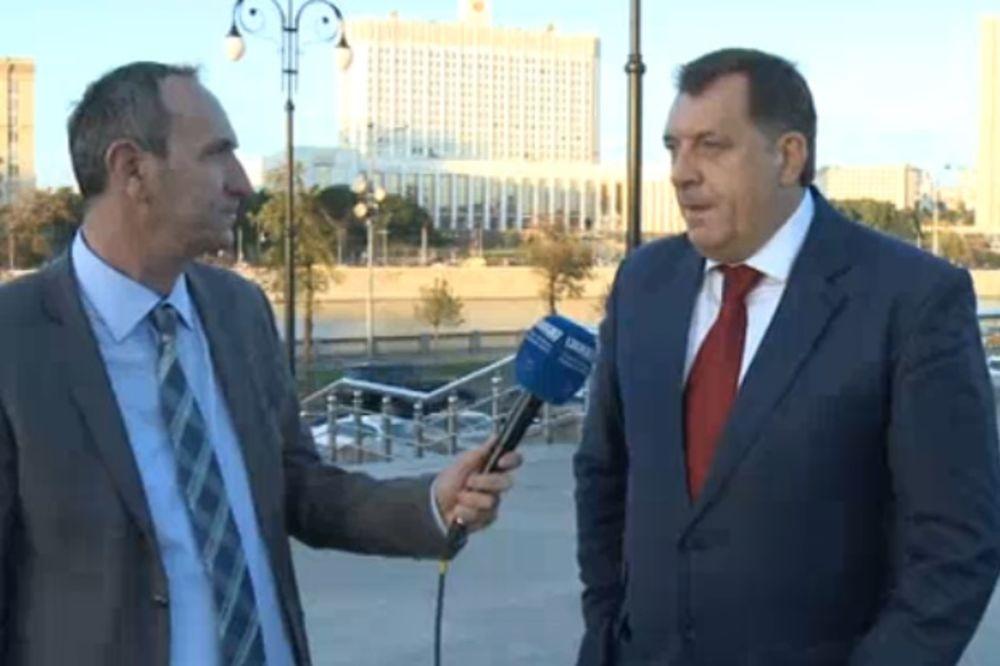 SRPSKA U RUSIJI: Dodik parafirao ugovor o kreditu, u četvrtak kod Putina