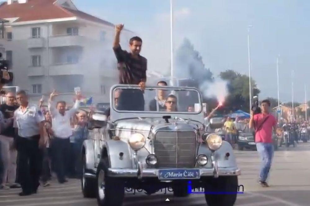 OVACIJE U MEĐUGORJU: Marin Čilić slavio titulu u rodnom kraju!