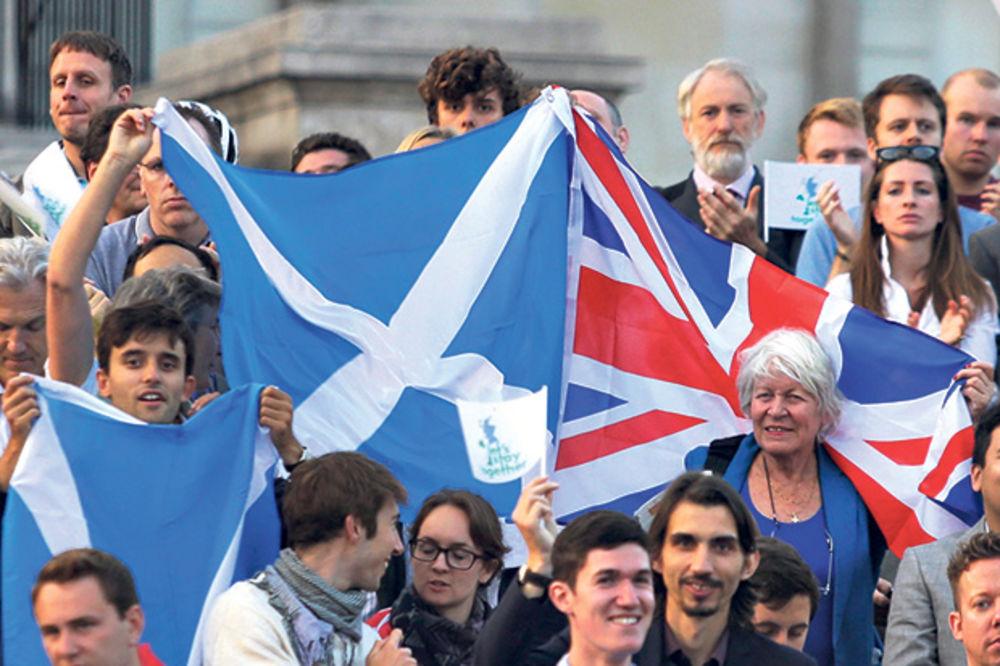 Svet strahuje od ishoda referenduma u Škotskoj
