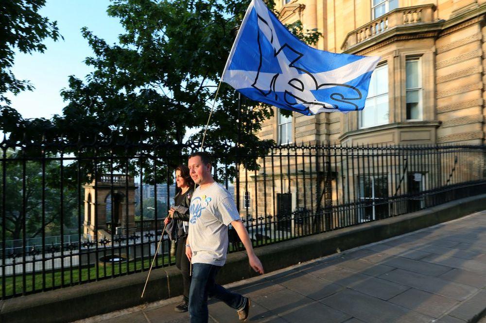 RASTE PODRŠKA: Za nezavisnost Škotske 48 odsto građana