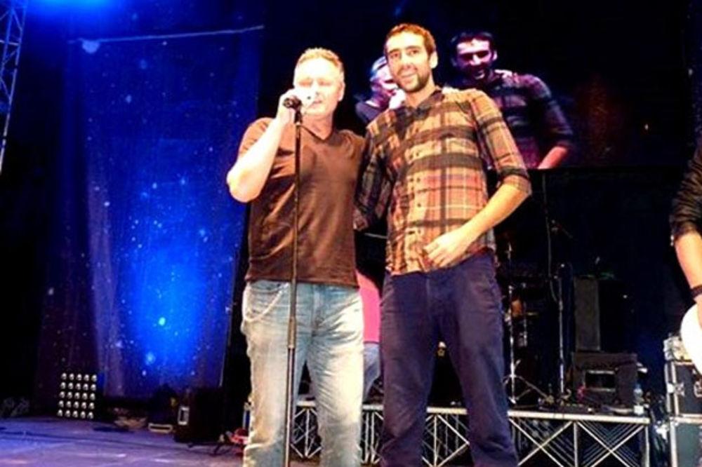 (VIDEO) FEŠTA: Tompson i Čilić zajedno pevali na koncertu u Međugorju