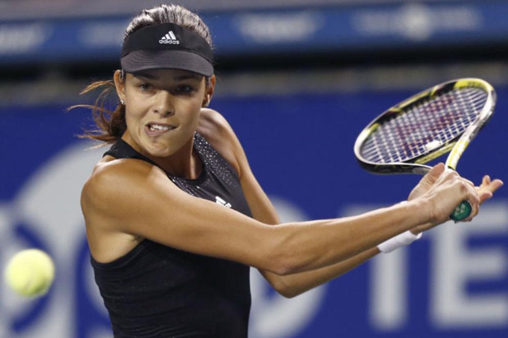 POBEDOM ZABORAVILA ŠVAJNŠTAJGERA: Ivanovićeva u četvrtfinalu turnira u Tokiju