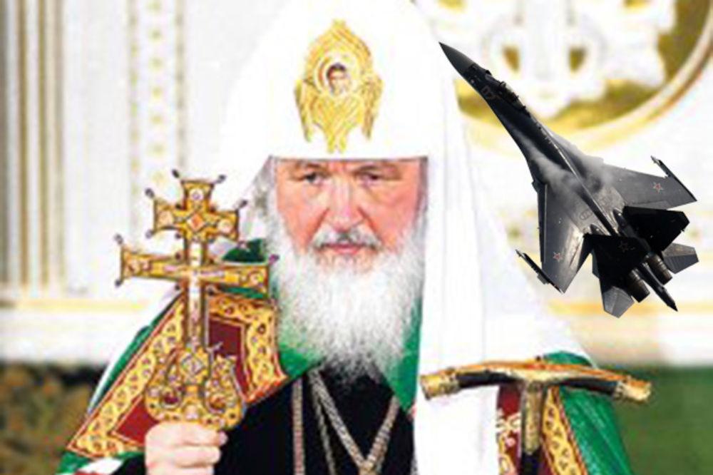 POSETA FABRICI AVIONA: Ruski patrijarh Kiril na poklon dobio Suhoj 35!