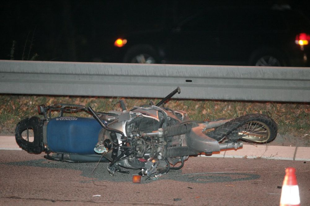 Motociklista lakše povređen na Zvezdari
