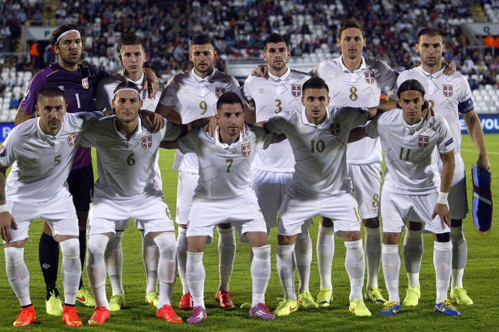 ORLOVI POKVARILI PLASMAN: Srbija pala na 34. mesto FIFA rang liste