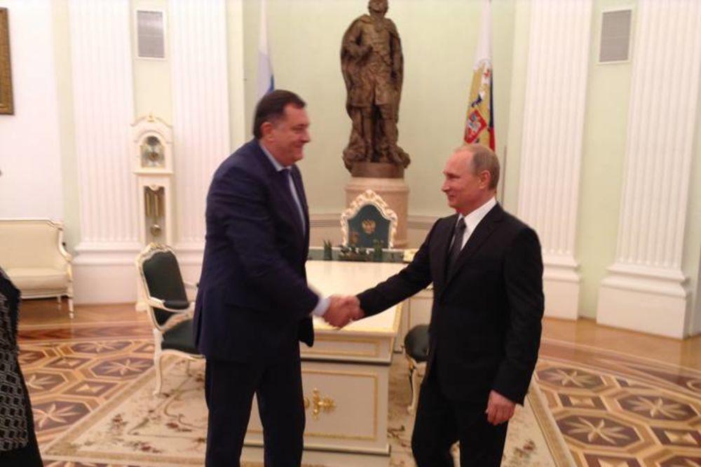 SRPSKA U MOSKVI: Putin 2 sata razgovarao sa Dodikom i Cvijanovićevom!