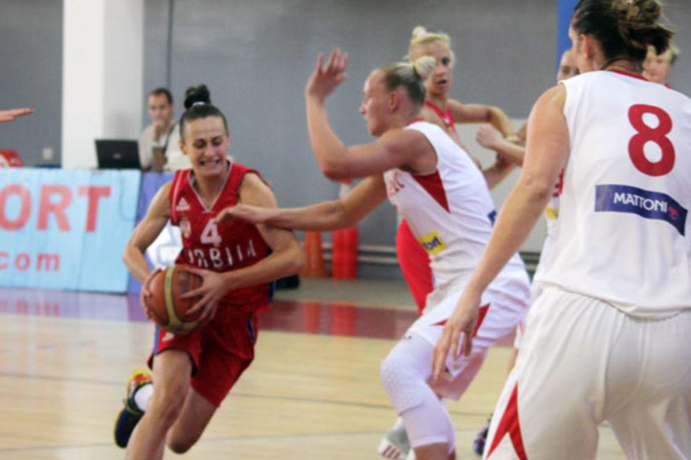 UBEDLJIVO: Košarkašice Srbije se revanširale Čehinjama