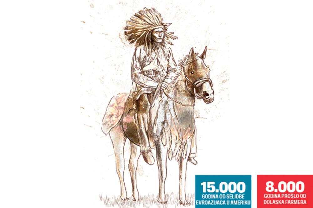 IZNENAĐENJE: Indijanci su naši rođaci!