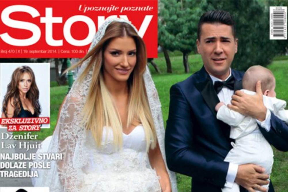 STORY EKSKLUZIVNO U NOVOM BROJU: Pogledajte fotografije sa venčanja Jovane i Željka!