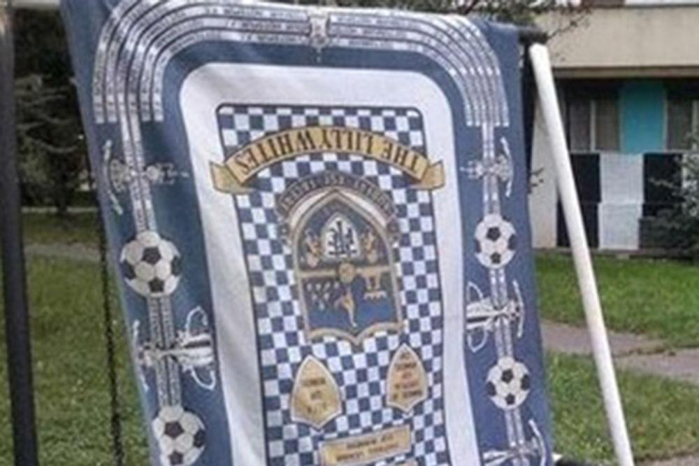 (FOTO) NAVIJAČKI SUKOB: Grobari oteli zastavu pristalicama Totenhema